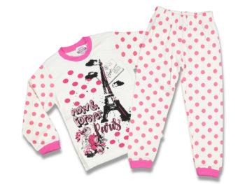Пижама детская 7/9 лет цвета фуксия 87803